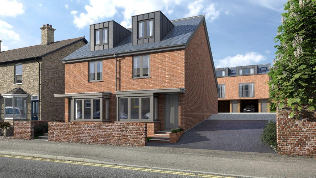 New Development of Five Townhouses Available to View NOW